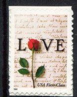 308025564 USA POSTFRIS MINT NEVER HINGED POSTFRISCH EINWANDFREI SCOTT 3496 Love Stamp Flowers Bloemen - United States