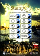 GREAT BRITAIN - 2015 STAMPEX  AUTUMN SMILERS SHEET   PERFECT CONDITION - Fogli Completi