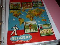 Protege-cahiers Publicitaire ALLIBERT - Protège-cahiers