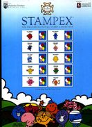 GREAT BRITAIN - 2017 STAMPEX  SPRING SMILERS SHEET   PERFECT CONDITION - Fogli Completi
