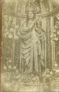 PS--MADONNA DI RACALMUTO AG.---CARTOLINA VIAGGIATA SENZA FRANCOBOLLO  1915 - Santini