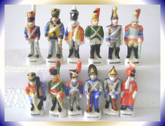 Rois à Austerlitz... Série Complète De 12 Fèves .. Ref AFF : 37-1995...( Pan 0010) - History