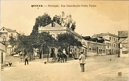 PORTUGAL. QUELUZ. RUA CONSELHEIRO PEDRO VICTOR. Nº 4. 2029-EDICAO F.A. MARTINS. LISBOA - Portugal