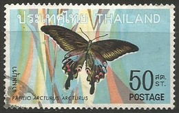 Thailand - 1968 Butterflies 50s Used  Sc 509 - Thailand