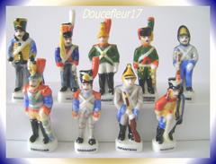 Rois à Austerlitz.. 9 Fèves .. Ref AFF : 37-1995...( Pan 0010) - Histoire