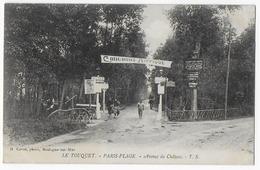 Cpa Bon Etat , Rare , Le Touquet-paris-plage  Avenue Du Château , Concours Hippique - Le Touquet