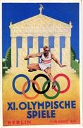1 CARD OLYMPISCHE SPIELE Berlin 1936 - Verano 1936: Berlin