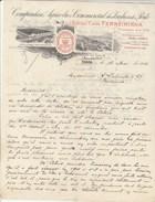 Lettre Illustrée 18/5/1913 Antiga Casa FERREIRINHA Vinhos PORTO Portugal - Vins - De Bruxelles Belgique - Portugal
