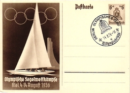 3 CARDS  OLYMPISCHE WINTERSPIELE Garmisch-Partenkirchen  1936 - Trading-Karten