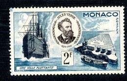 W4275  Monaco 1955  Michel #513* ( .20€ )  Offers Welcome - Monaco
