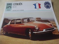 CITROEN  DS 19  1955 - Voitures