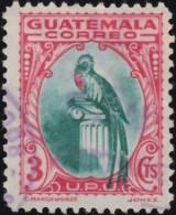 GUATEMALA - Scott #274 Quetzal / Used Stamp - Guatemala