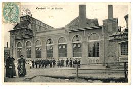 CORBEIL   LES MOULINS  LA FOULE - Corbeil Essonnes