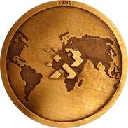 ESPAÑA. MEDALLA CONMEMORATIVA DEL MAPA GEOLOGICO DE ESPAÑA. MAGNA. 2.003 (I.G.M.E.). ESPAGNE. SPAIN MEDAL - Profesionales/De Sociedad