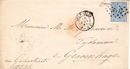 16 JUL 1891   Envelop    Van VELP (GLD) Naar 'sGravenhage Met NVPH 19 En Puntstempel 112 - Periode 1891-1948 (Wilhelmina)
