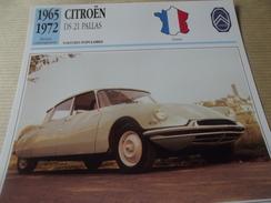 CITROEN  DS  21  PALLAS  1965 - Voitures