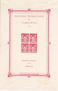 France Bloc N° 1* Expo Internationale De 1925 Bloc Neuf Avec Charnières - Neufs