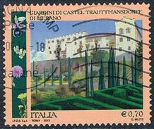Italie - Jardins Du Château De Trauttmansdorff 3358 (année 2013) Oblit. - 6. 1946-.. Repubblica