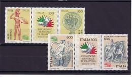 1984/85 - TRITTICI NUOVI MNH** VEDI FOTO - 6. 1946-.. Republic