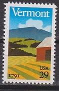 USA 1991 Vermont 1v ** Mnh (35107B) - Nuovi