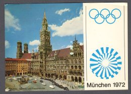 MÜNCHEN 1972 OLYMPIASTADT FG V  SEE 2 SCANS - Muenchen