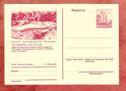 P 415 Wien Erdberg, Abb: Purgstall, Ungebraucht (35868) - Ganzsachen