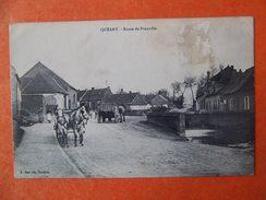 Cpa Queant 62 Route De Pronville Pas De Calais - France