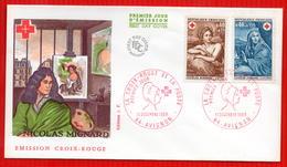 FDC FRANCE 1969 AVIGNON - Red Cross