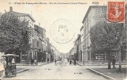 RUE DU LIEUTENANT COLONEL PICQUART - Vitry-le-François