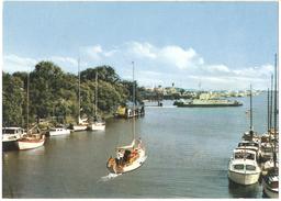 Brunsbüttelkoog - Schleusenstadt - Verlag Frieda Fegbeitel, Brunsbüttelkoog - Schiff / Boat / Bateau - Brunsbuettel
