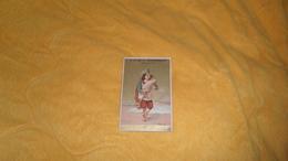 CHROMO OU IMAGE ANCIENNE DATE ?. / A LA BELLE BOURBONNAISE J. VEILLER MOULINS. CHAUSSURES SUR MESURE. / ITALIE. - Cromos