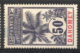 Colonies Françaises Et Protectorats (DAHOMEY) - 1906-07 - N° 28 - 50 C. Violet - (Palmiers) - Neufs