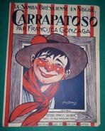 Partition : La Zamba Bresilienne En Vogue - CARRAPATOSO , Par Francisca Gonzaga - Jazz