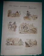 THE STRANGE ADVENTURES OF A   DOG-CART 1885 - Bücher, Zeitschriften, Comics