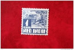 Karbouw 1 Ct NVPH 246 1938 Ongebruikt / MH NEDERLAND INDIE / DUTCH INDIES - India Holandeses