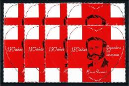 España  (8 Viñetas)  Cruz Roja - Spanien