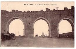RABAT: Les Trois-Portes Den Zaërs - Rabat