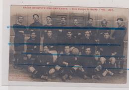 CPA - UNION SPORTIVE DES GAD'ZARTS - 1ière Equipe De Rugby - 1910 - AIX EN PROVENCE - - Aix En Provence