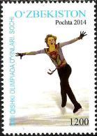 Uzbekistan - 2014 - XXII Winter Olympic Games In Sochi - Mint Stamp - Uzbekistan