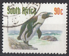 867J Sud Africa 1993 Uccelli Birds - Pinguino Africano - Spheniscus Demersus - Jackass Penguin - Used  South Suid Afrika - Sud Africa (1961-...)