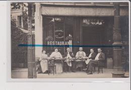 CARTE PHOTO - PARIS - Café Restaurant - AU CHALET - 155 Rue Convention XVème - Arrondissement: 15