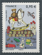 France, EUROPA, Old Toys, 2015, MNH VF - Unused Stamps