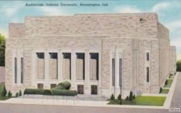 Indiana Bloomington Auditorium Indiana University Curteich - Bloomington