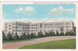 Indiana Bloomington University School Indiana University Curteich - Bloomington
