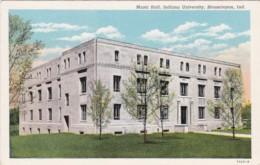 Indiana Bloomington Music Hall Indiana University Curteich - Bloomington