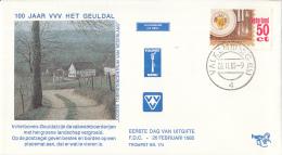 Nederland – FDC Trompet 174/175 – Toerisme – NVPH 1322-1323/T174-175 - FDC