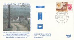 Nederland – FDC Trompet 174/175 – Toerisme – NVPH 1322-1323/T174-175 - Vakantie & Toerisme
