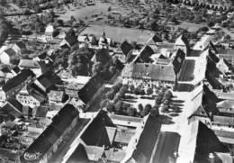 CPSM Dentelée - SARRE-UNION (67) - Vue Aérienne Du Bourg En 1954 - Sarre-Union