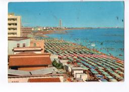 U151 Cartolina Del Emilia - Gatteo Mare (Forli Cesena) Spiaggia Beach Plage Strand Playa _ 1971 CIRCOLATA - Italie