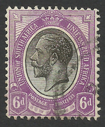 South Africa, 6 P. 1913, Sc # 10, Used. - Zuid-Afrika (...-1961)